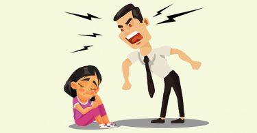 el mal humor de los padres