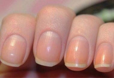 la media luna de las uñas