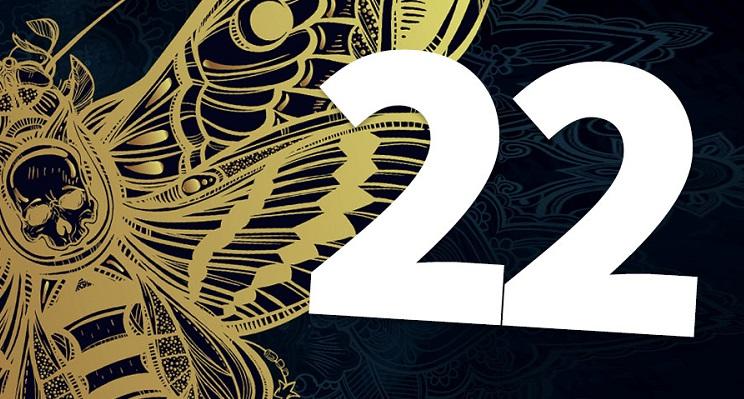 numerología día 22