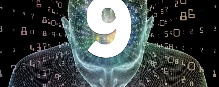 numerología día 9