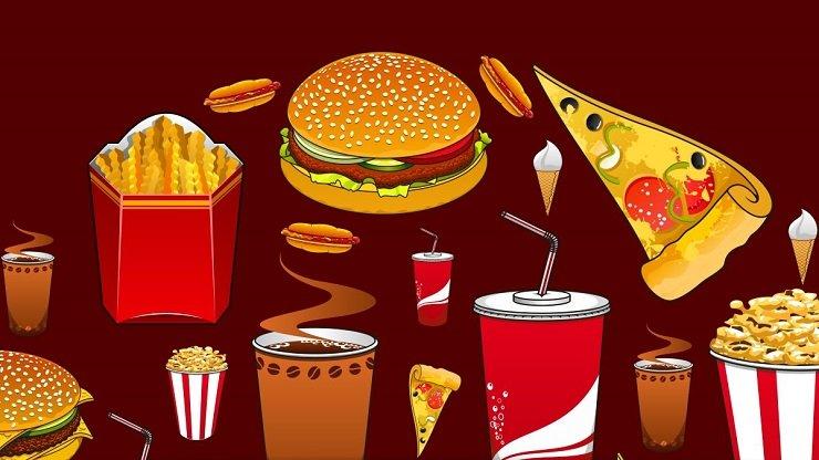 sufres de migaña por comida rápida