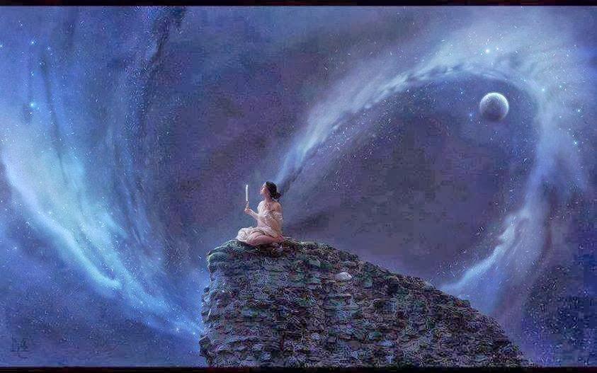 una mujer con poderosa intuición