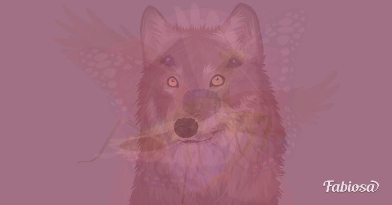 test de los animales lobo
