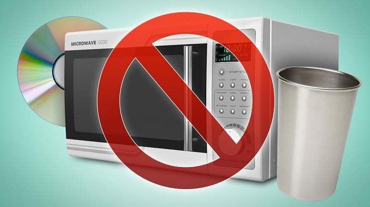 evitar accidentes en el microondas