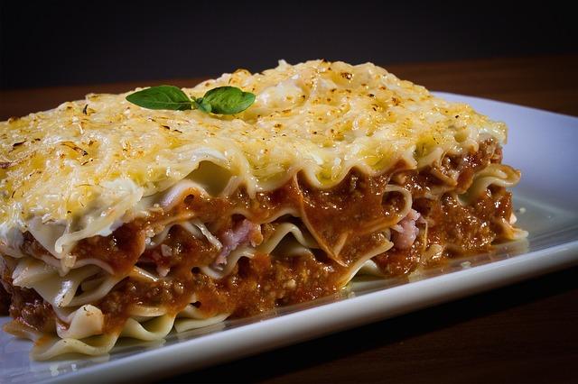 deliciosa pasta con salsa