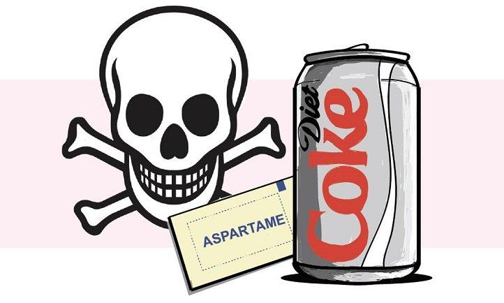 aspartamo sodas de dieta