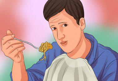 comiendo cenas pesadas