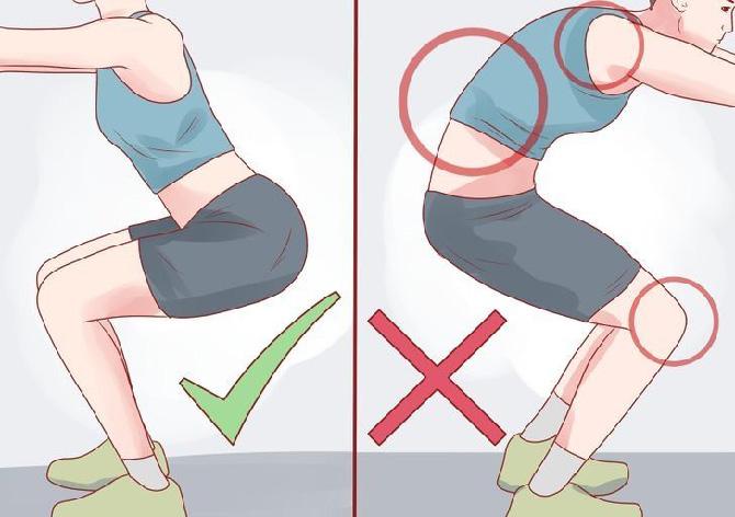 Así se deben realizar las sentadillas para evitar lesiones
