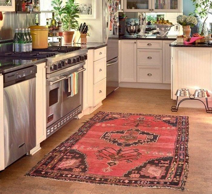 decorar con alfombras en la cocina
