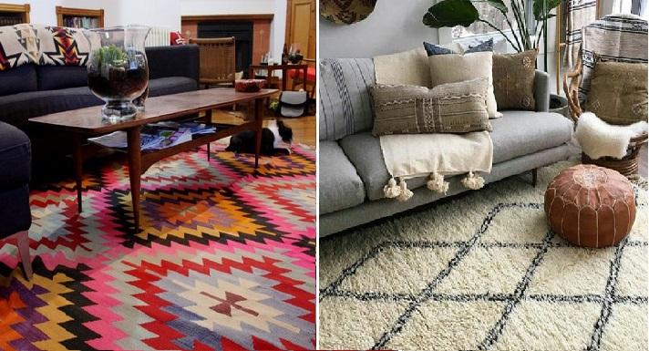 Ideas para decorar con alfombras siguiendo estas 9 tendencias - Decorar con alfombras ...