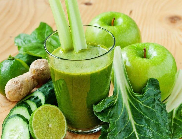 jugos verdes para verse más joven