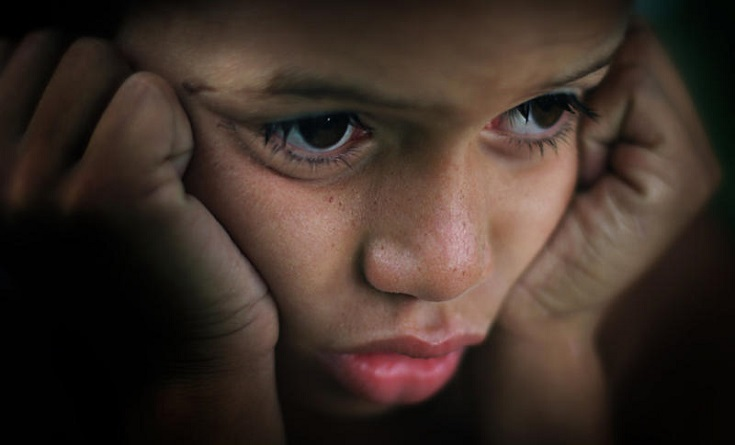 niños que sufren de ansiedad