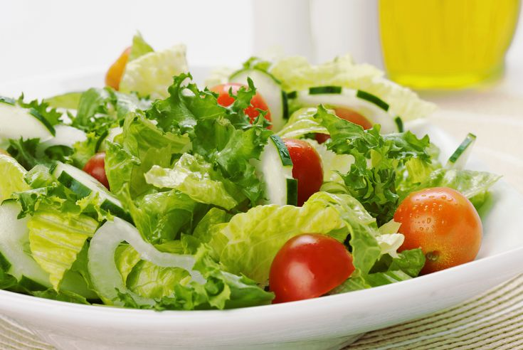 piel más limpia con ensaladas