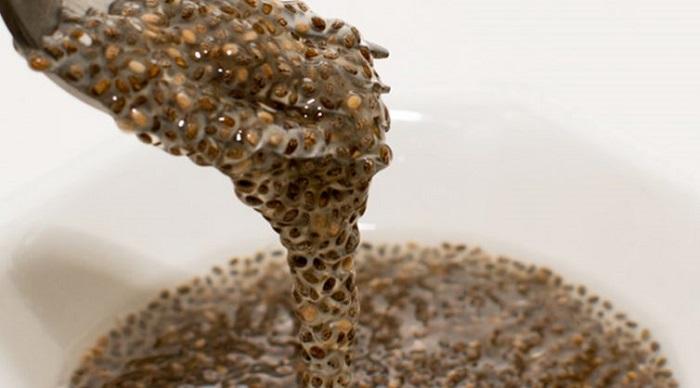quitarse la hinchazón con semillas de chía