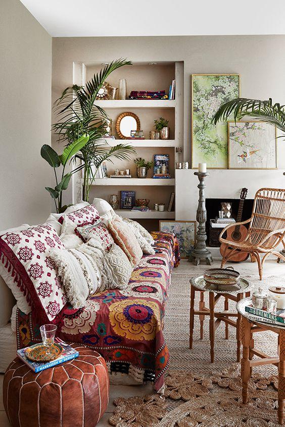 telares y textiles adornan y ambientan muy bien cualqueir hogar