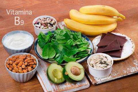 vitaina b9 para prevenir el deterioro del cerebro