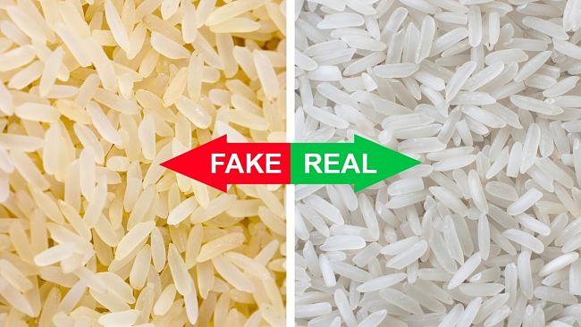 diferencias entre el arroz real y el arroz falso