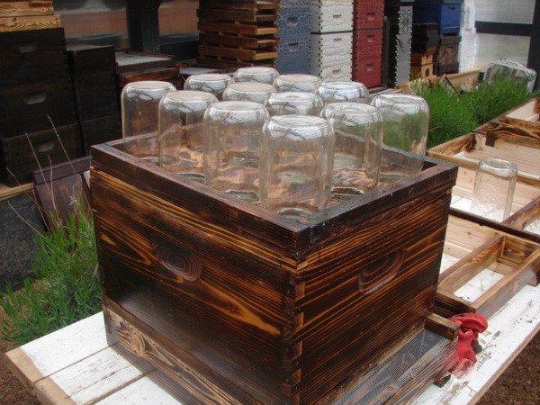 caja de colmena casera