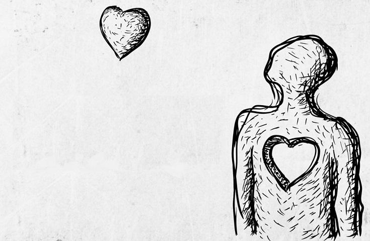 sentir vacío en el corazón
