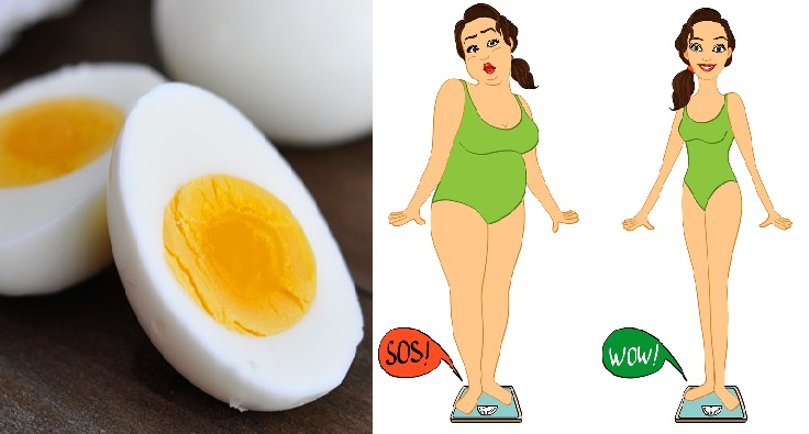 beneficios del huevo duro para adelgazar