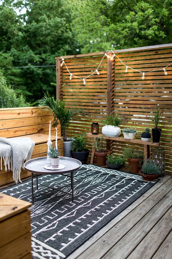 ideas para el patio moderno