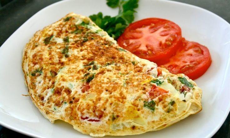 la dieta del huevo cocido omelette