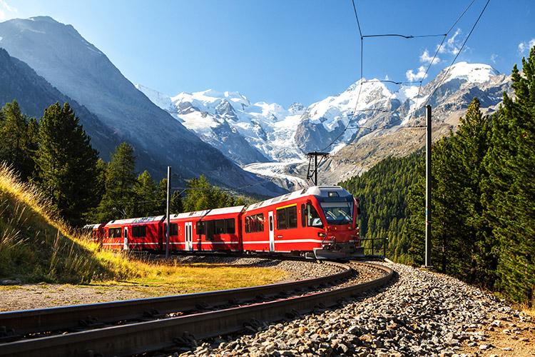 un paseo en tren por Europa