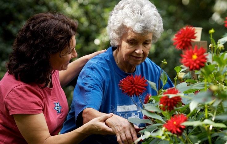 jardinería como terapia antiestrés