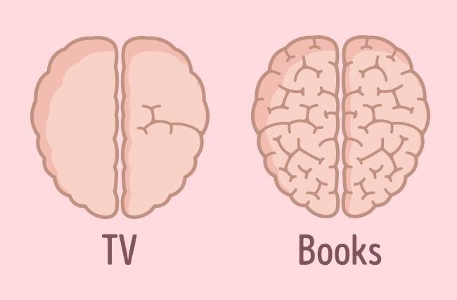 efectos de la tv sobre el cerebro