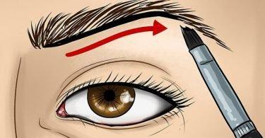 truco para maquillar los ojos