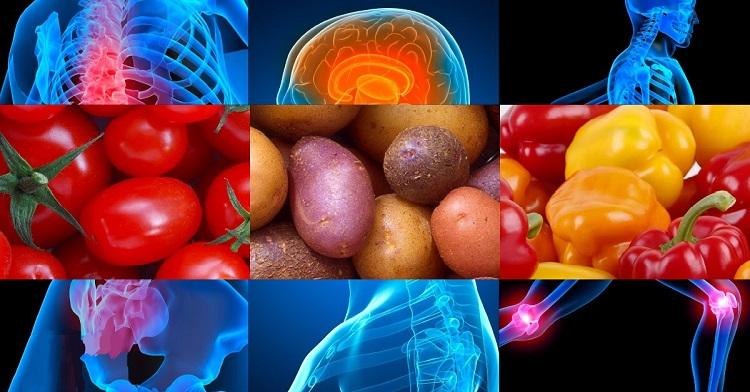 inflamación por verduras