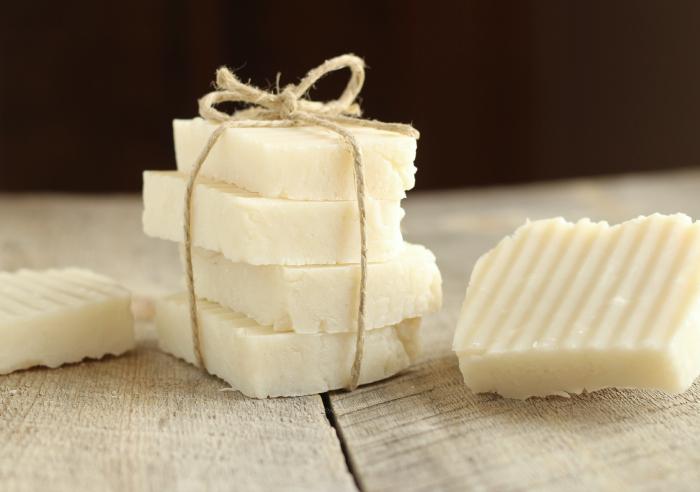 jabón de leche de arroz para blanquear la piel