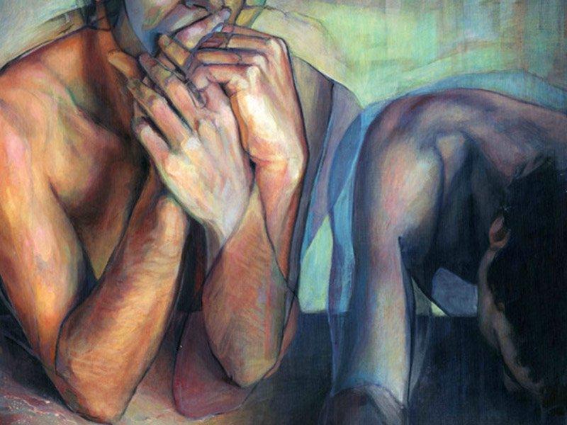 una persona con desorden compulsivo