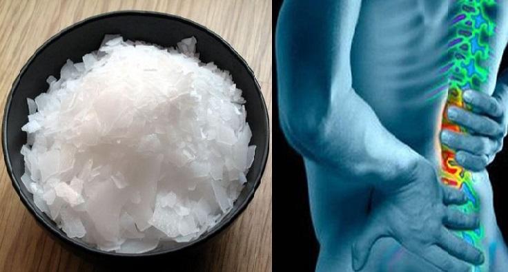 aliviar el dolor con magnesio