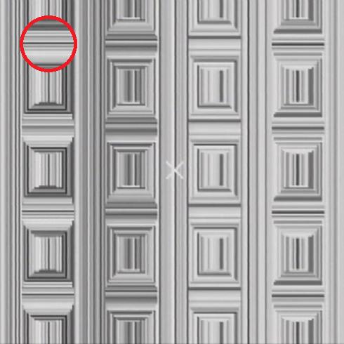 ilusión óptica círculos en la imagen
