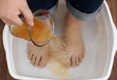la desintoxicación comienza desde tus pies