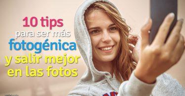 10 tips para ser más fotogénica
