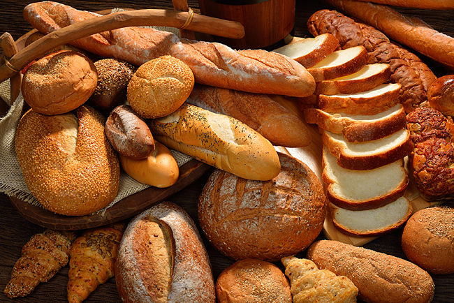 Panes con azúcar oculta