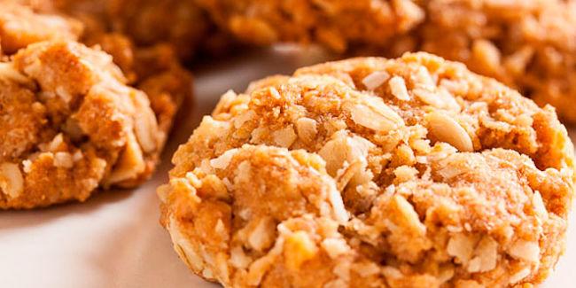 deliciosas galletas de avena con almendras