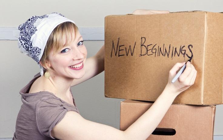 nueva vida nuevo comienzo