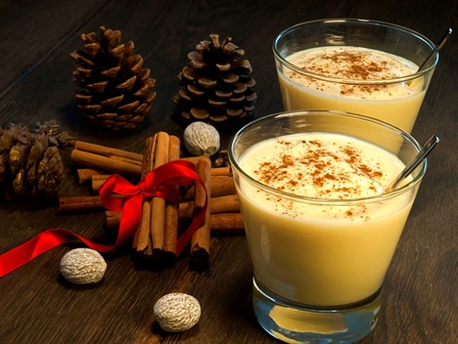 Una bebida para las fiestas decembrinas