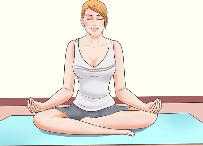 mujer se relaja para evitar el estrés