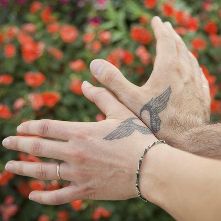 tatuajes para parejas forma de alas