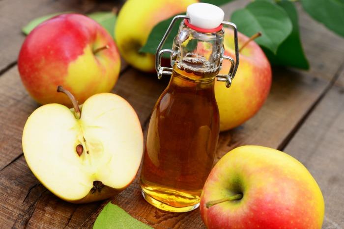manzanas y vinagre para aaclarar los labios oscuros