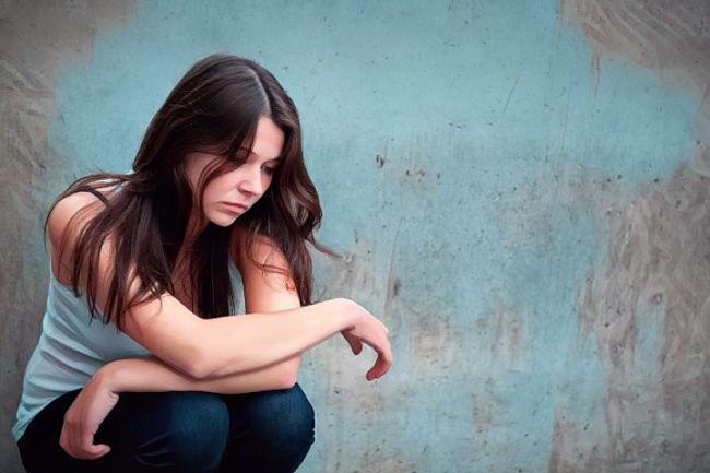 Una mujer que sufre ansiedad funcional
