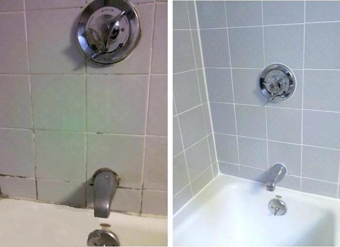 aumentar el valor de la casa limpiando los azulejos