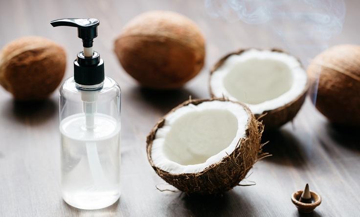 champú casero con aceite de coco