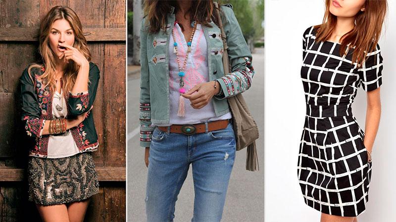 Mujeres con ropa que les hace lucir una cintura más pequeña