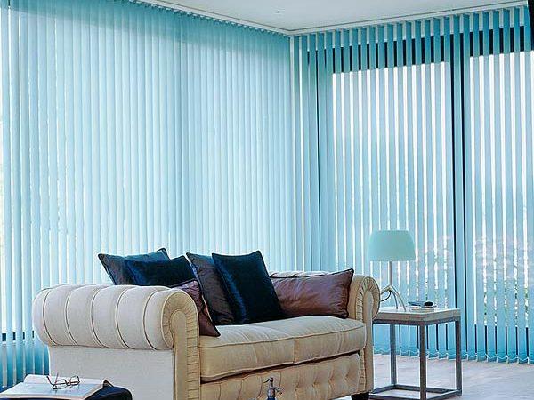 decorar tu casa con persianas verticales