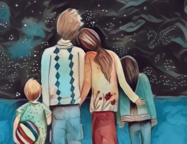 La familia no solo es por vínculo de sangre, la amistad son la familia escogida